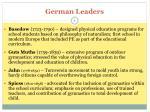 german leaders
