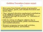golden twenties 1920 1929