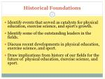 historical foundations1