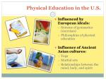 physical education in the u s
