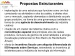 propostas estruturantes