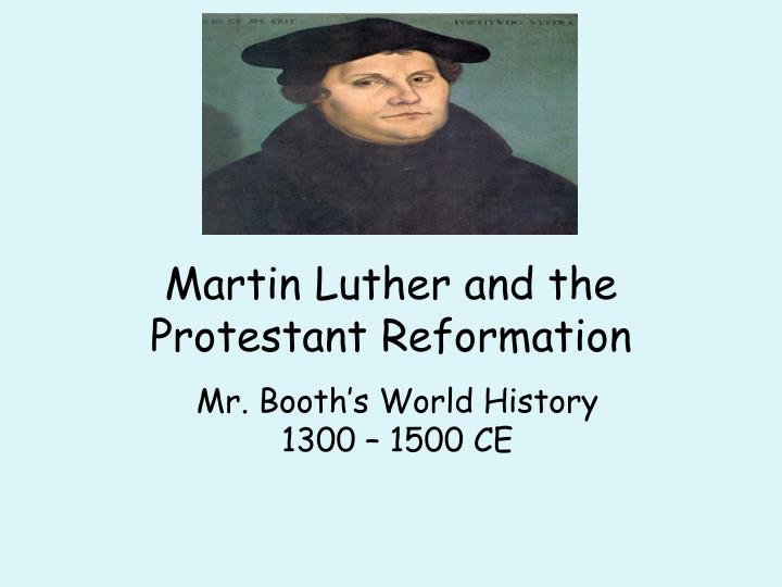 martin luther and the catholic reformation essay