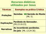 recursos did ticos utilizados por jesus