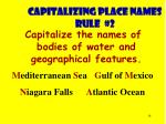 capitalizing place names rule 2