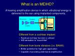 what is an meihd