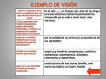 ejemplo de visi n1