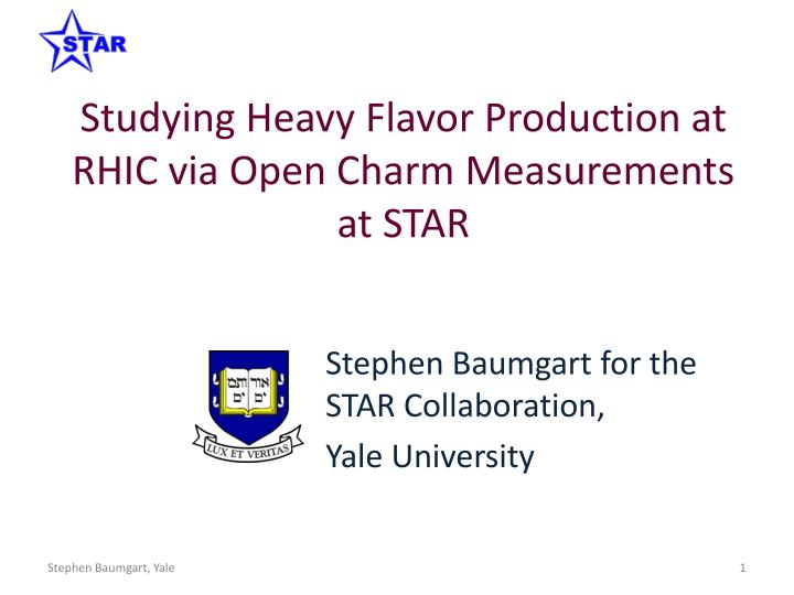 studying heavy flavor production at rhic via open charm measurements at star n.