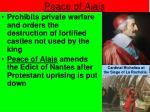 peace of alais