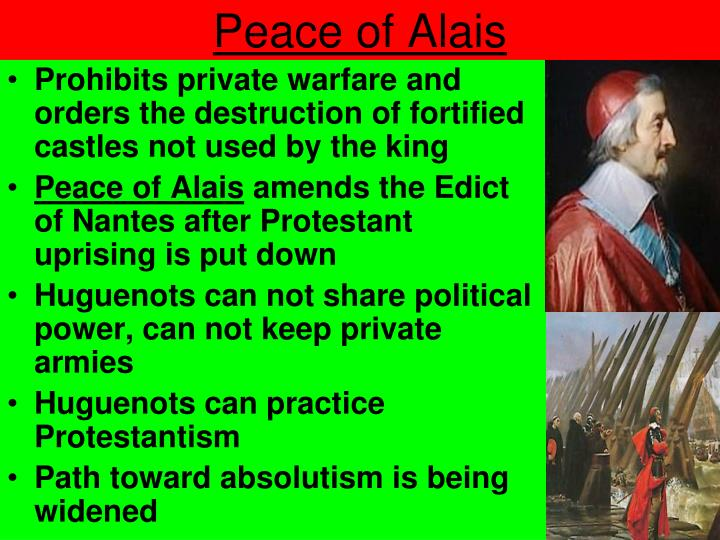 Peace of Alais