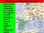 political and religious disunity1