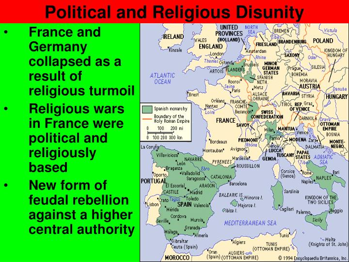 Political and Religious Disunity