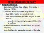 what divided france1