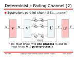 deterministic fading channel 2