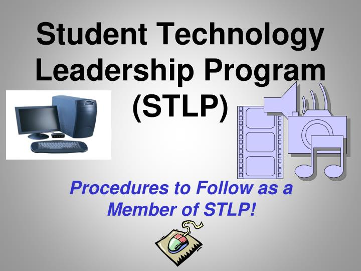 student technology leadership program stlp n.