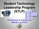 student technology leadership program stlp