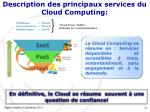 description des principaux services du cloud computing1