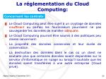 la r glementation du cloud computing4