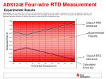 ads1248 four wire rtd measurement experimental results1