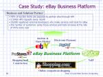 case study ebay business platform