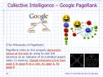 collective intelligence google pagerank