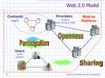 web 2 0 model