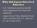 why did japan attacked america2