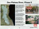 des plaines river phase ii