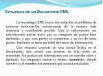 estructura de un documento xml