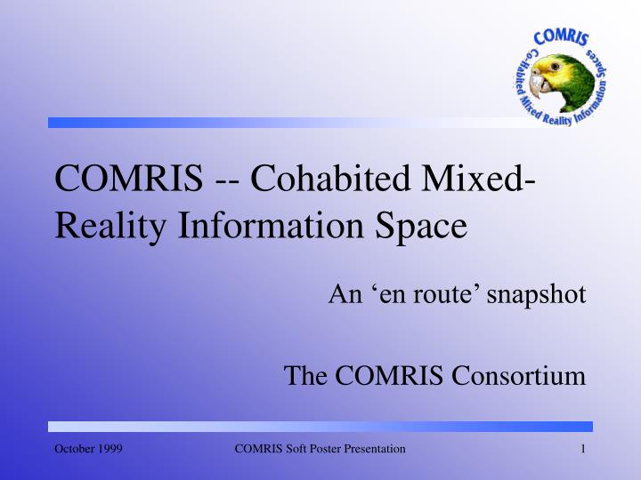 comris cohabited mixed reality information space n.