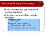 interfaces multiple inheritance