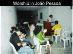 worship in jo o pessoa