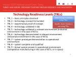 technology readiness levels trls