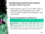 statistika blagostanja ivotnog standarda nejednakost dohotka i potro nje20