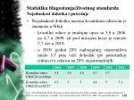 statistika blagostanja ivotnog standarda nejednakost dohotka i potro nje4