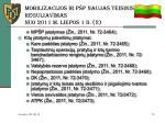 mobilizacij os ir p p naujas teisinis reguliavimas nuo 2011 m liepos 1 d 2
