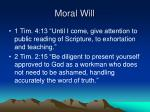 moral will