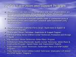 w ww supervision and support program