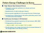 future energy challenges in korea