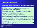 personal relationships one fifth of moves motivated by personal relationships