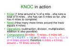 knoc in action