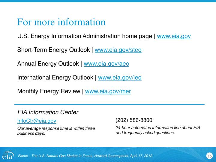 U.S. Energy Information Administration home page |