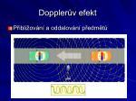 doppler v efekt