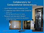 collaboratory for computational geosciences