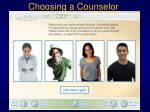choosing a counselor