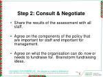 step 2 consult negotiate