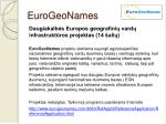 eurogeonames