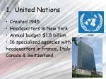 1 united nations