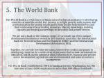 5 the world bank