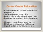 career center relocation1
