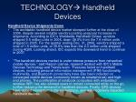 technology handheld devices